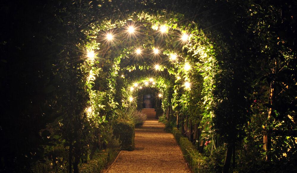 Illuminated Garden at West Green House